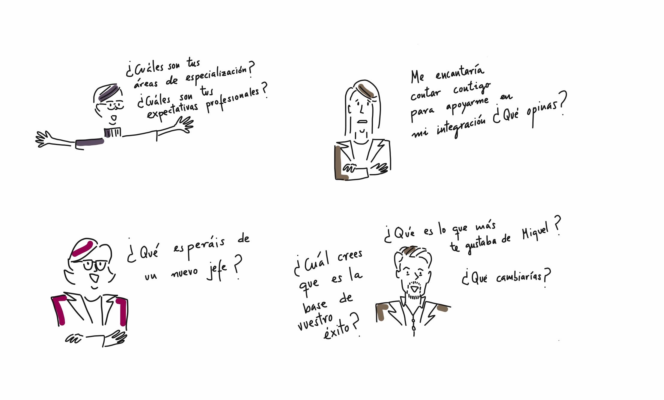 escena 3 entrevistas